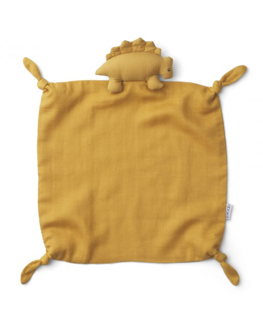 Agnete Cuddle Cloth | Dino Yellow Mellow