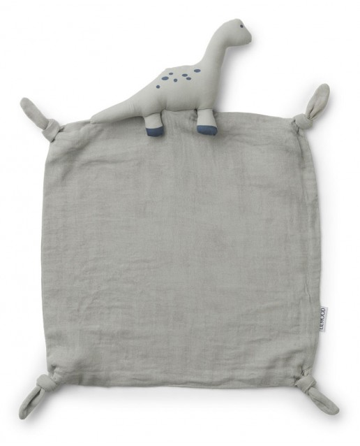 Agnete Cuddle Cloth | Dino Dove Blue