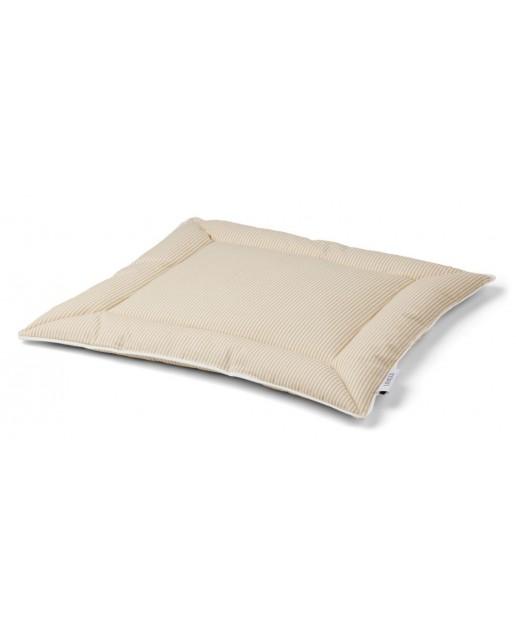 Pi Kapok Baby Pillow | Stripe: Smoothie yellow/creme de la creme