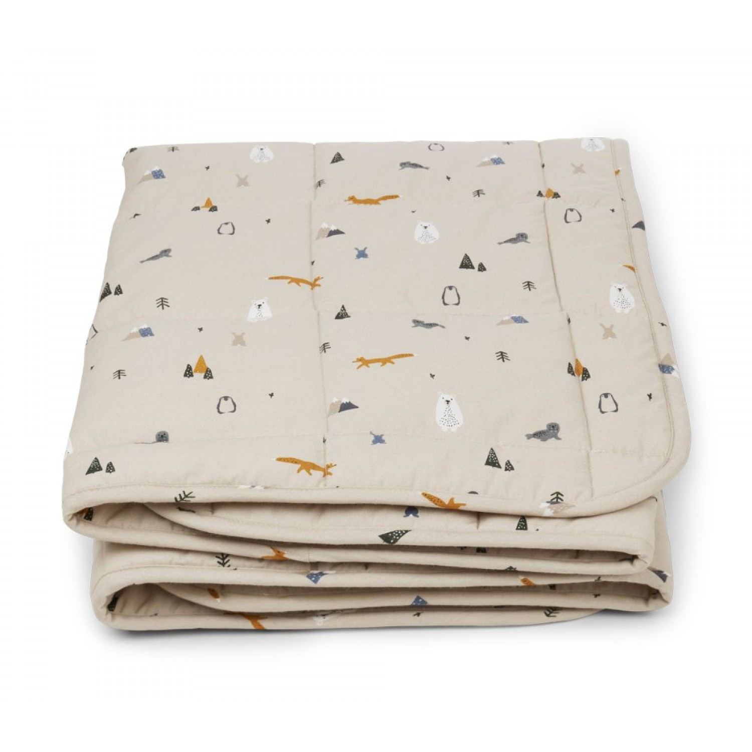 Ebbe Quilted Blanket | Arctic Mix
