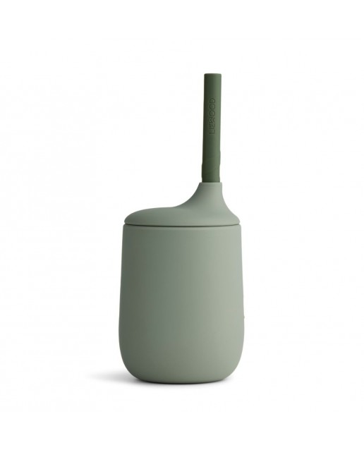 Liewood Ellis Sippy Cup | Faune Green / Hunter Green Mix