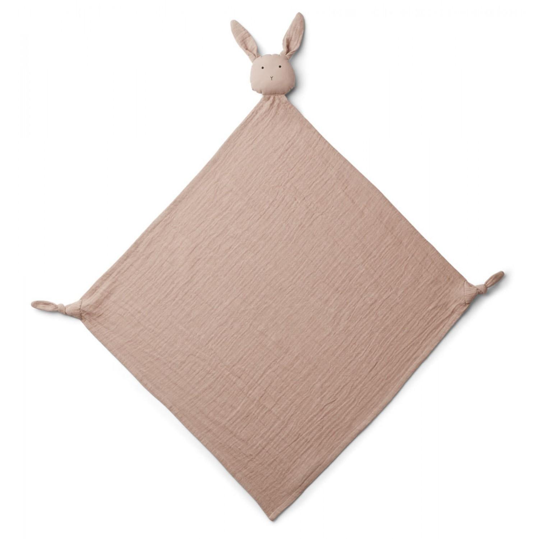 Robbie Multi Muslin Cloth | Rabbit rose