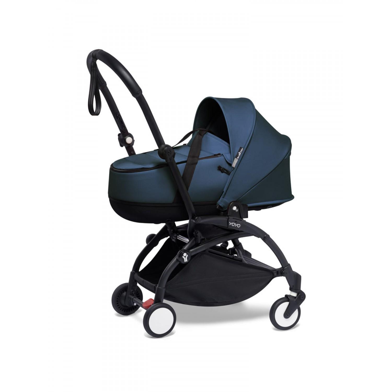 BABYZEN stroller YOYO2 bassinet  Black Frame   Navy