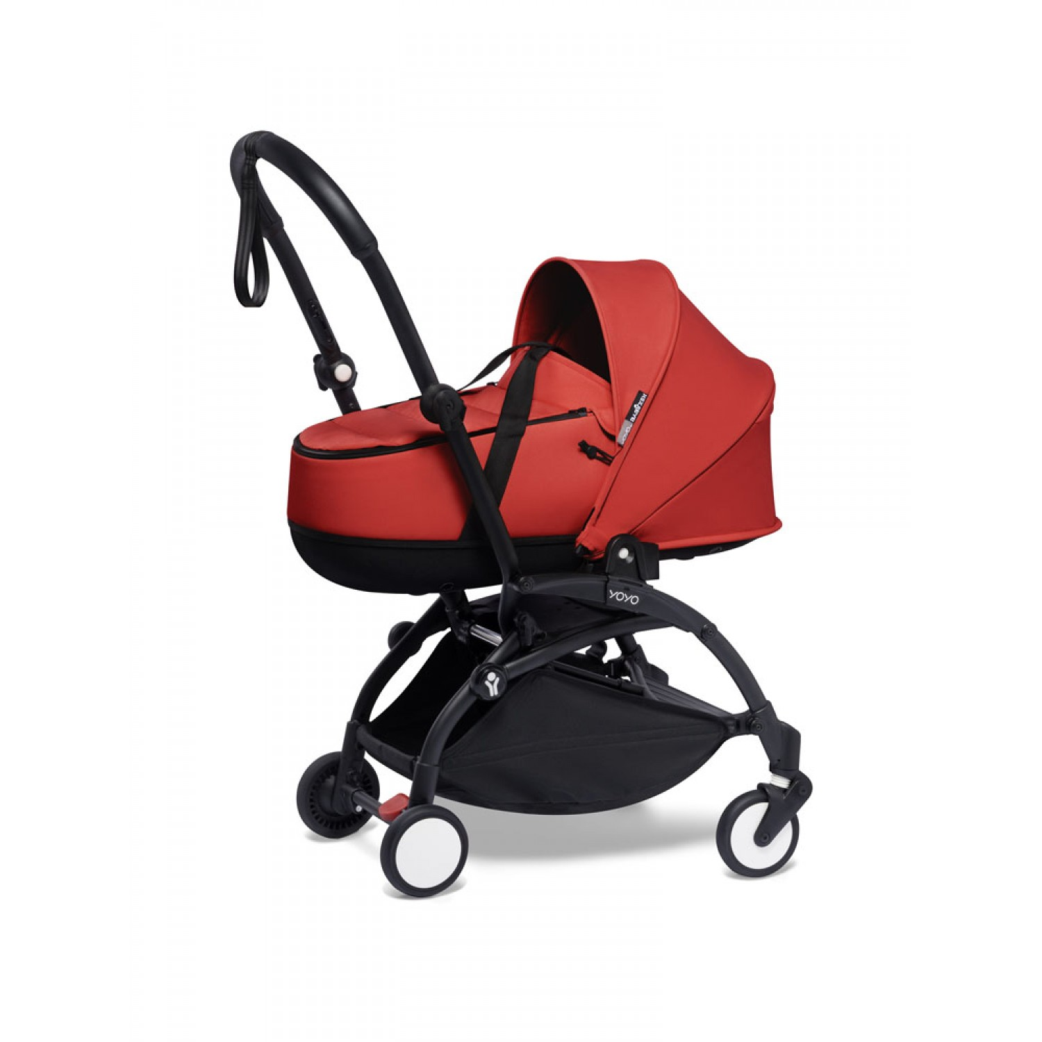 BABYZEN stroller YOYO2 bassinet  Black Frame | Red
