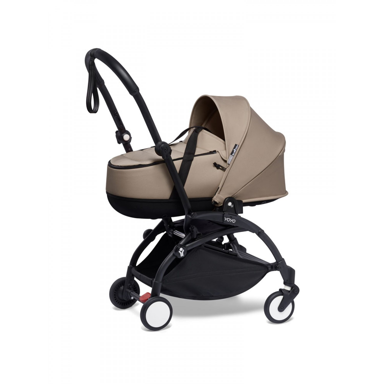 BABYZEN stroller YOYO2 bassinet  Black Frame | Taupe