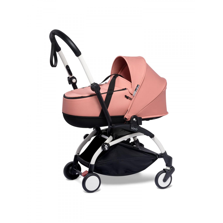 BABYZEN stroller YOYO2 bassinet  White Frame | Ginger