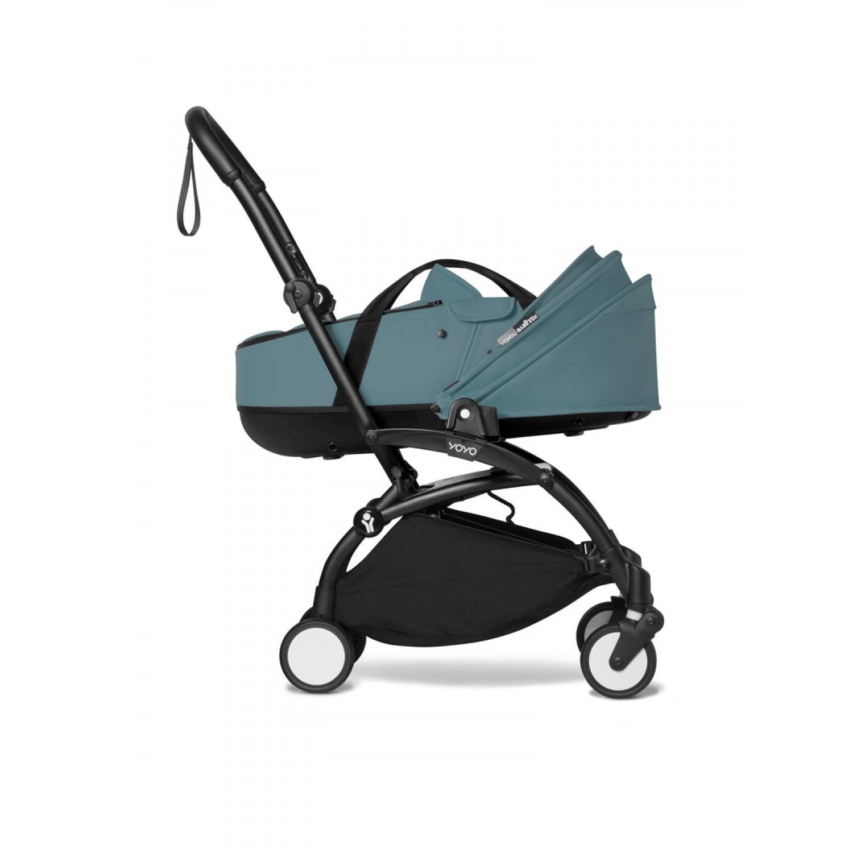 BABYZEN stroller YOYO2 bassinet  Black Frame | Aqua