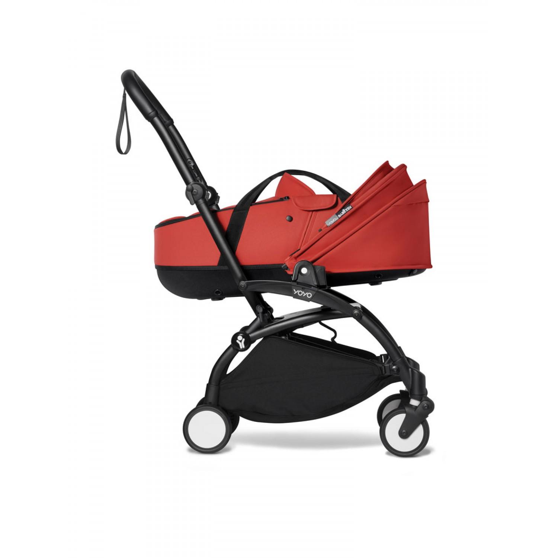 BABYZEN stroller YOYO2 bassinet  Black Frame | Red