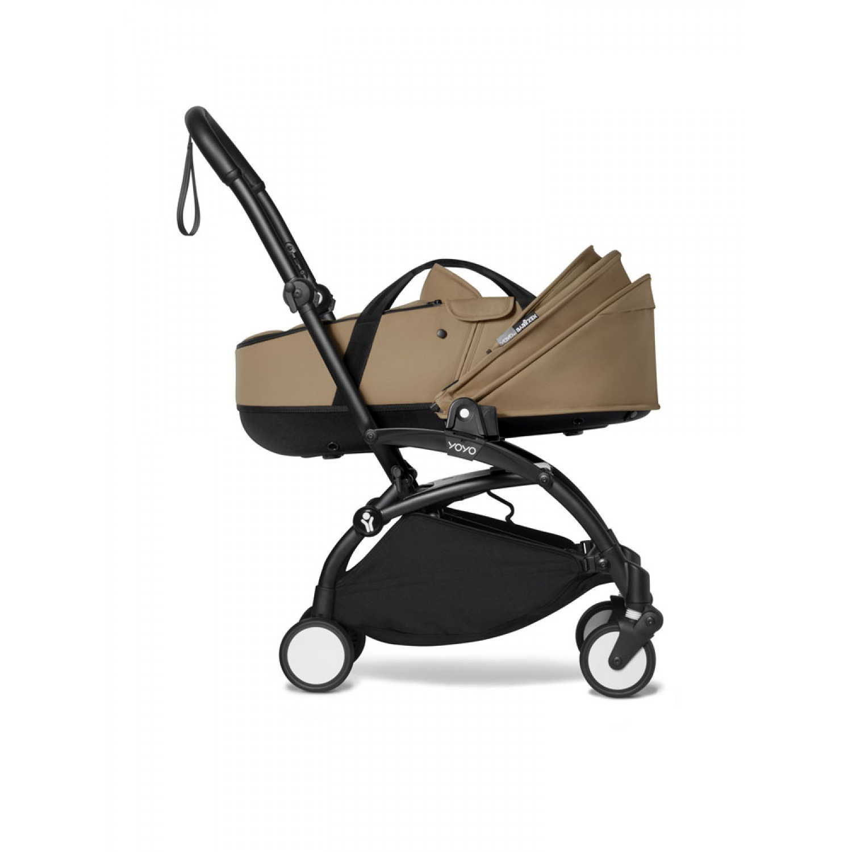 BABYZEN stroller YOYO2 bassinet  Black Frame | Toffee