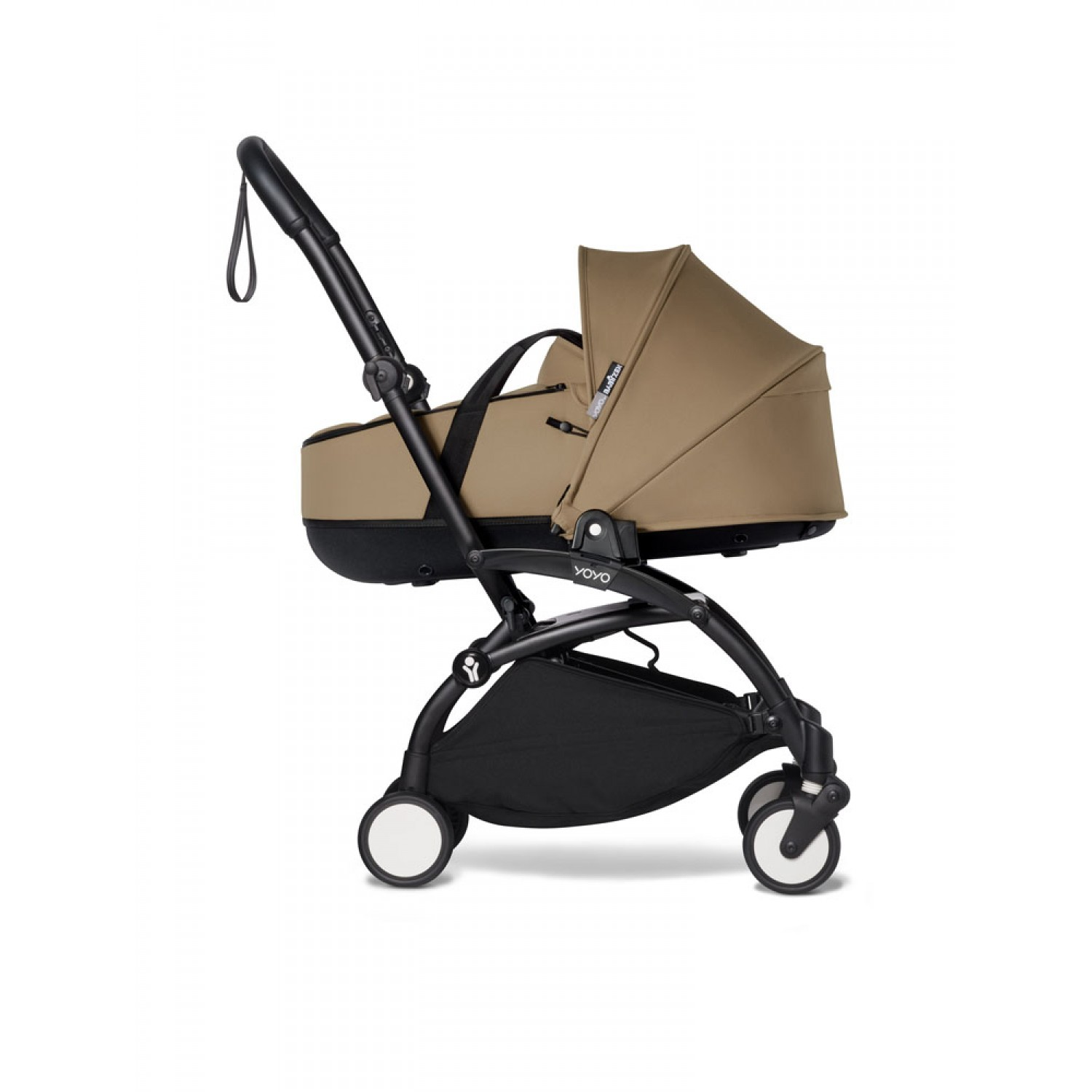 Complete BABYZEN stroller YOYO2 bassinet and 6+ Black Frame | Toffee