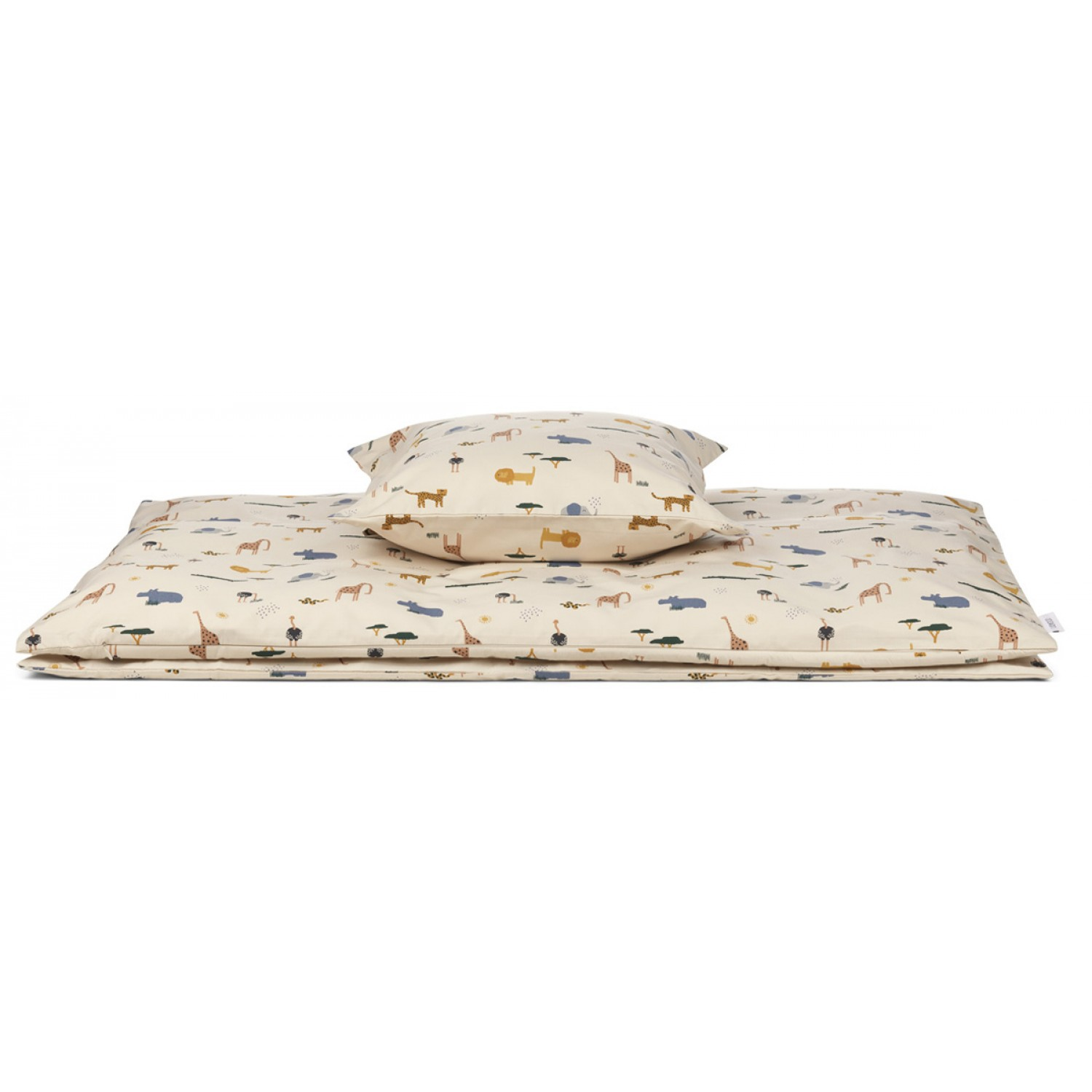 Carmen Bed Linen Baby | Safari sandy mix