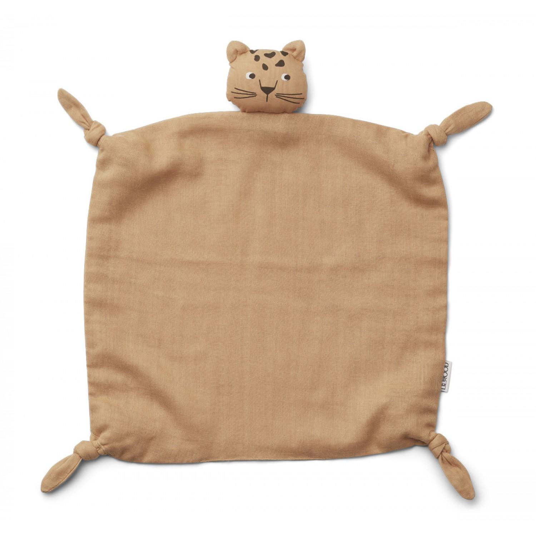 Agnete Cuddle Cloth | Leopard apricot