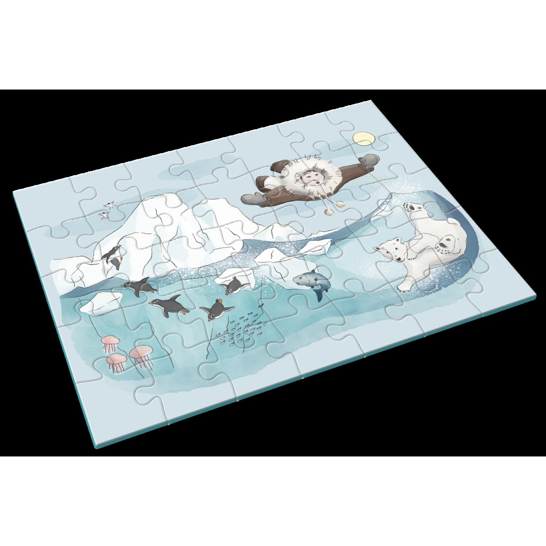 Penguin Crush Puzzle