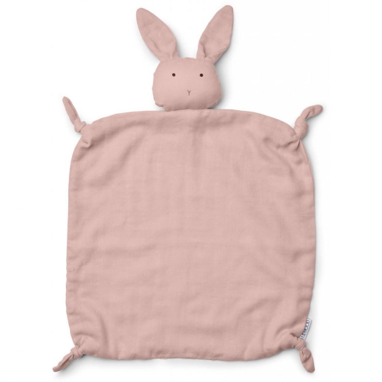 Agnete cuddle cloth   Rabbit rose