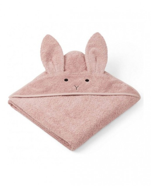 HOODED TOWEL- RABBIT ROSE