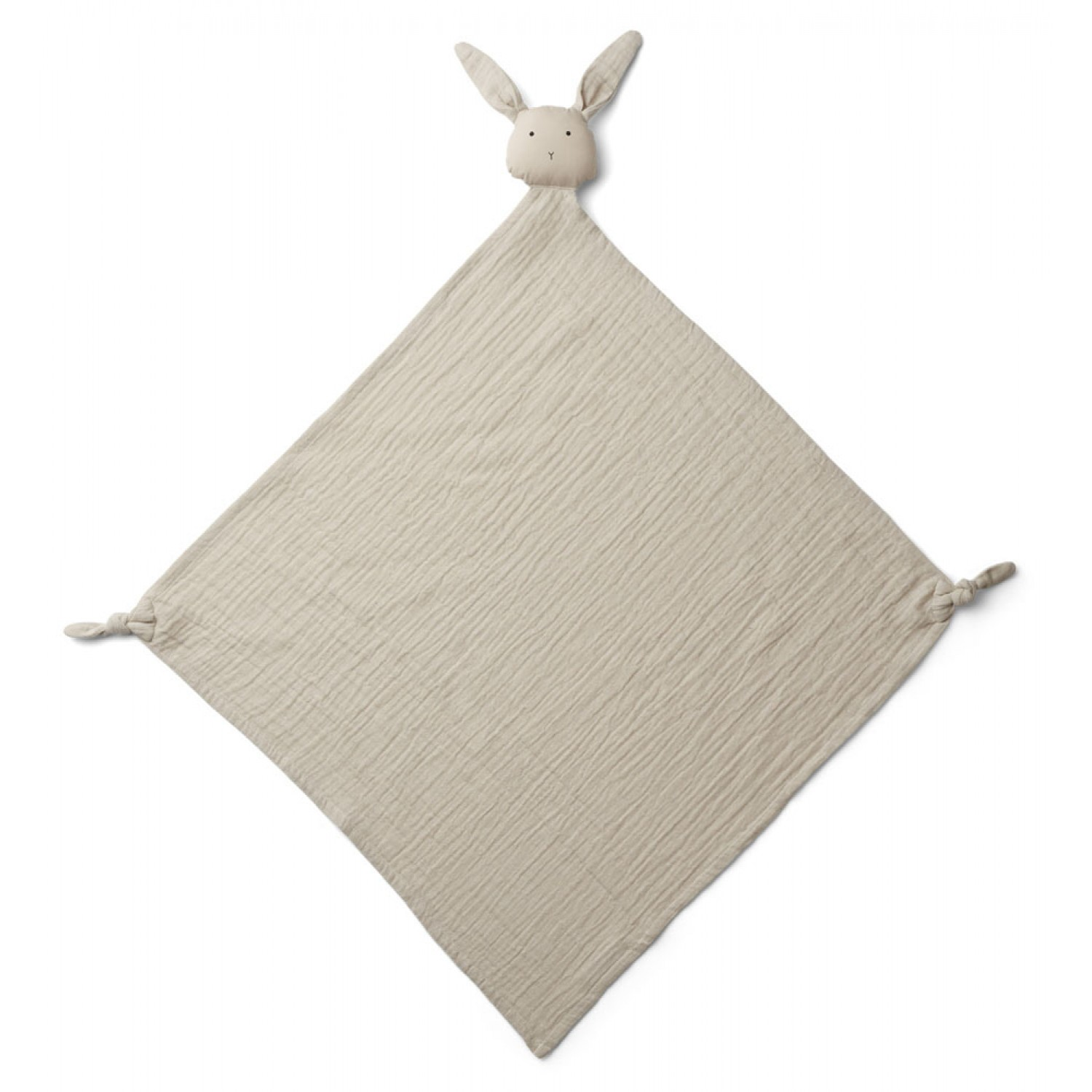 Robbie Multi Muslin Cloth | Rabbit sandy
