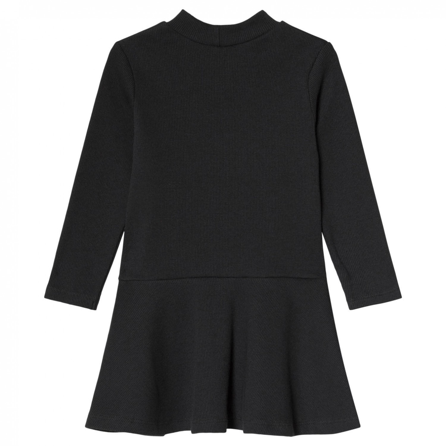 RIB TURTLENECK DRESS