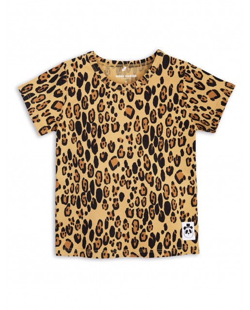Basic leopard T-shirt MINI RODINI