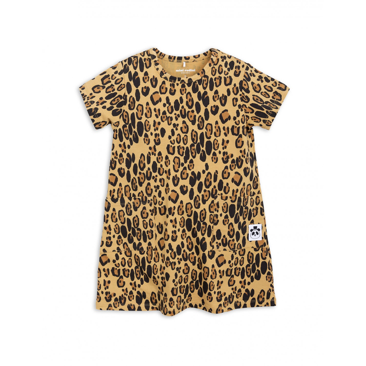 LEOPARD BASIC DRESS