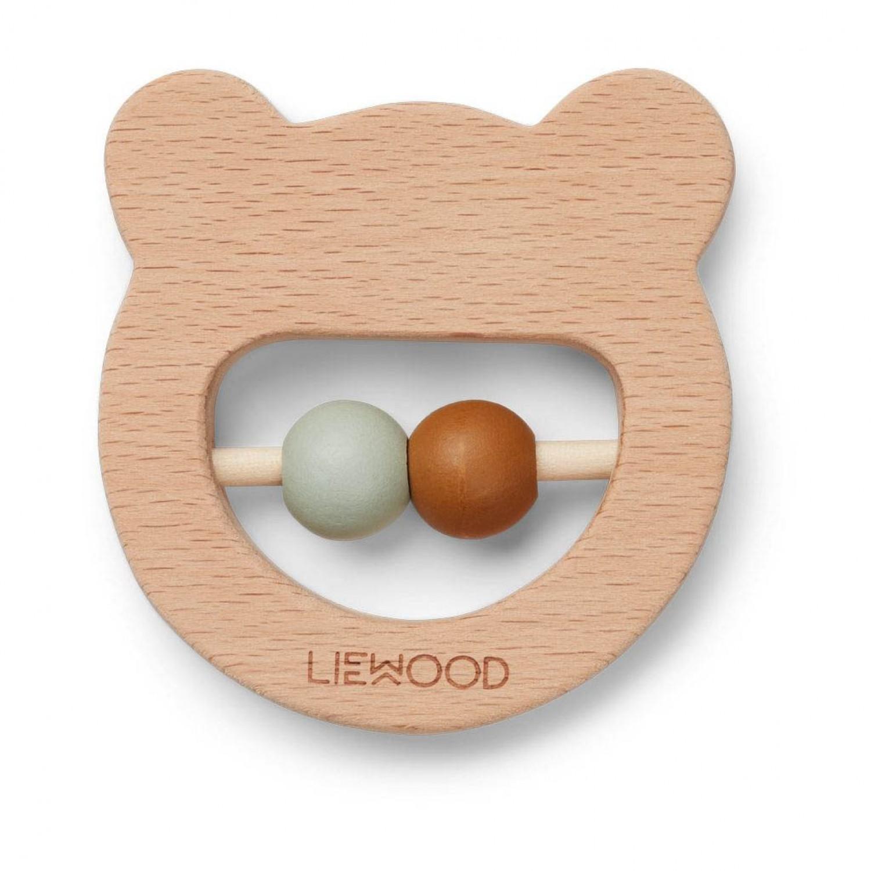 Wood Teether | Mr Bear Natural