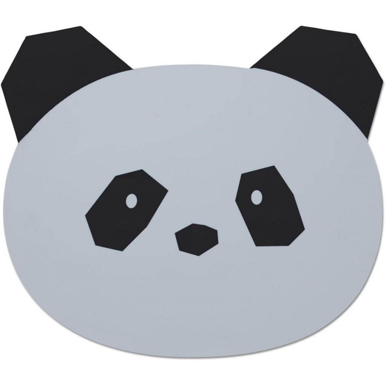 Aura Placemat | Panda Dumbo Grey