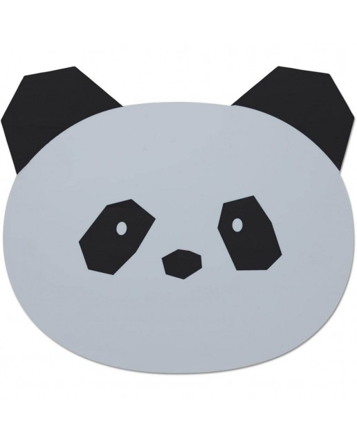 Aura Placemat | Panda Dumbo Grey