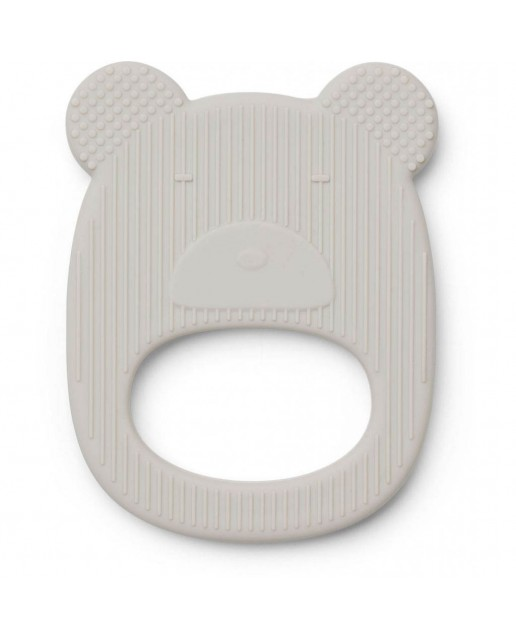 Gemma Teether | Bear Dumbo Grey