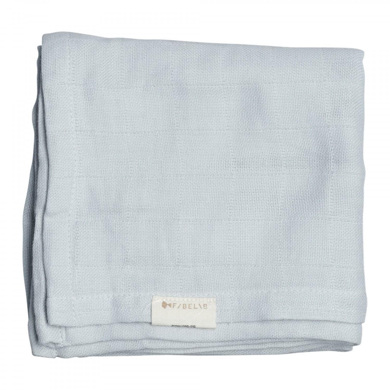 Muslin Cloth   Icy Grey