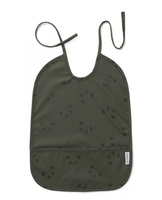 Lai Bib | Panda hunter green