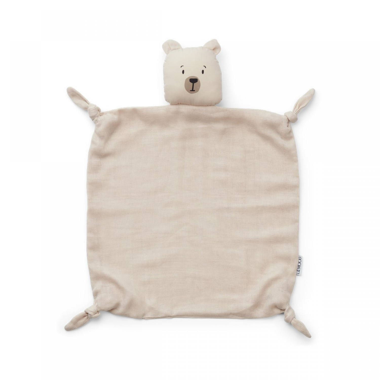Agnete Cuddle Cloth | Polar bear sandy