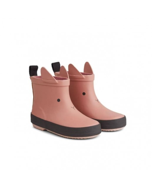 River Rain Boot  Tobi| Dark Rose