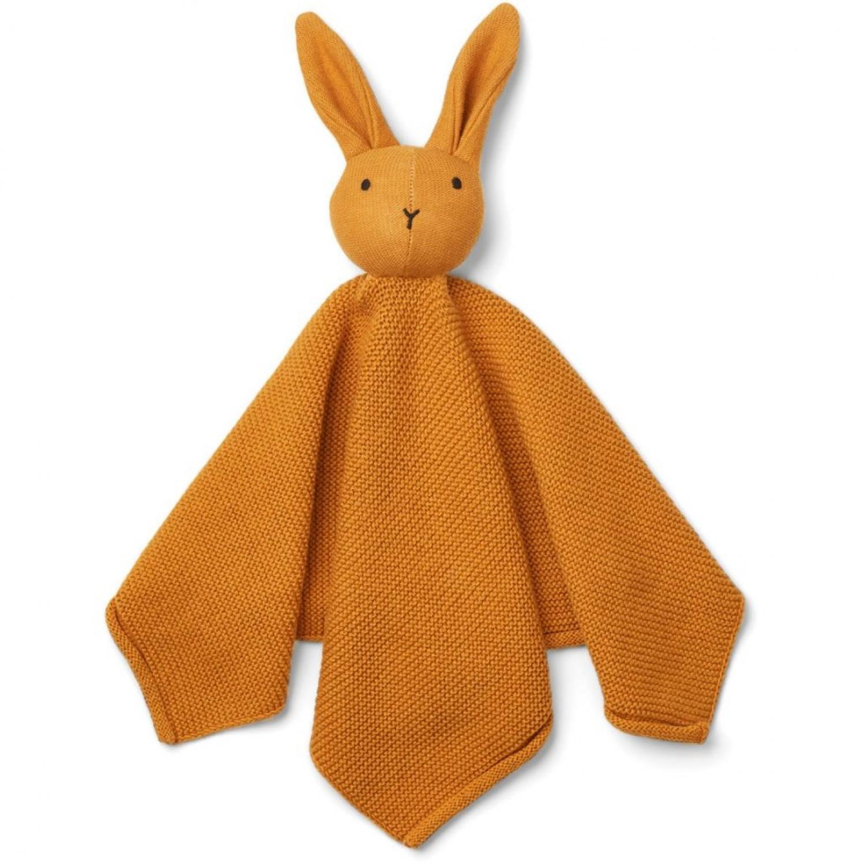 Milo Knit Cuddle Cloth | Mustard