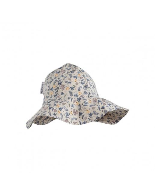 Amelia sun hat |  Coral Flower