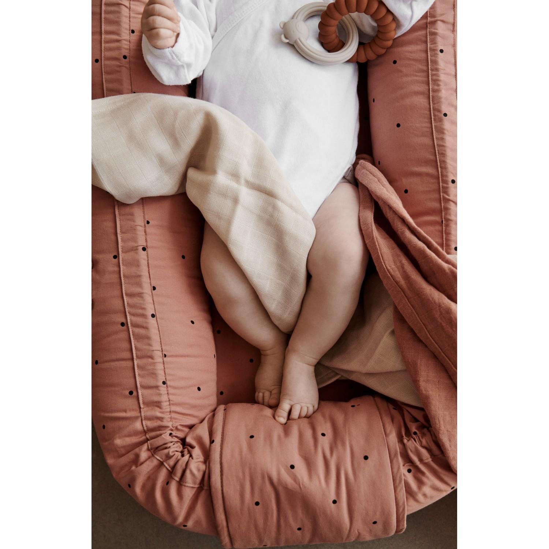 Babylift / Babynest   Classic dot tuscany rose