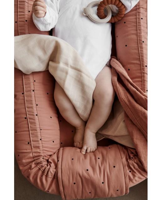 Babylift / Babynest | Classic dot tuscany rose