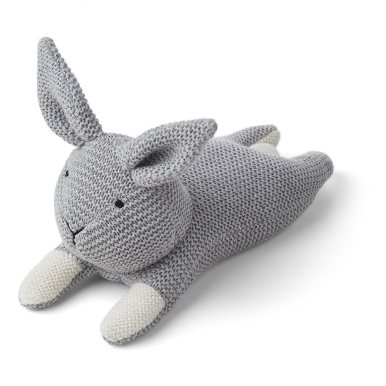 Missy Knit Teddy | Rabbit Grey