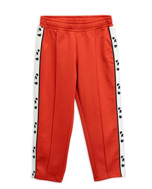 PANDA TRACK PANTS RED