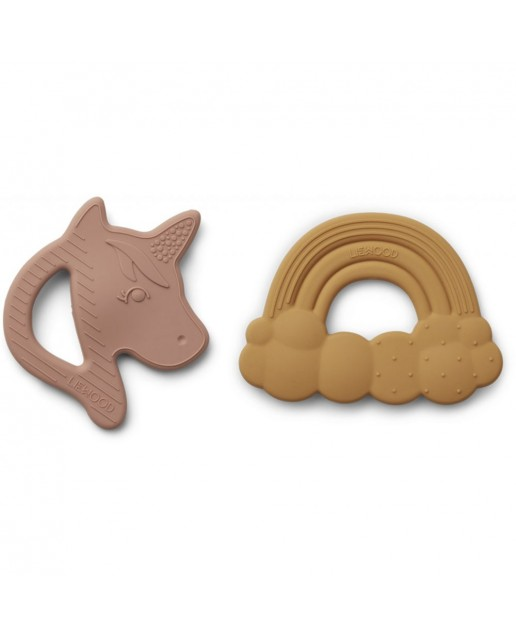 Roxie Silicon Teether 2 Pack