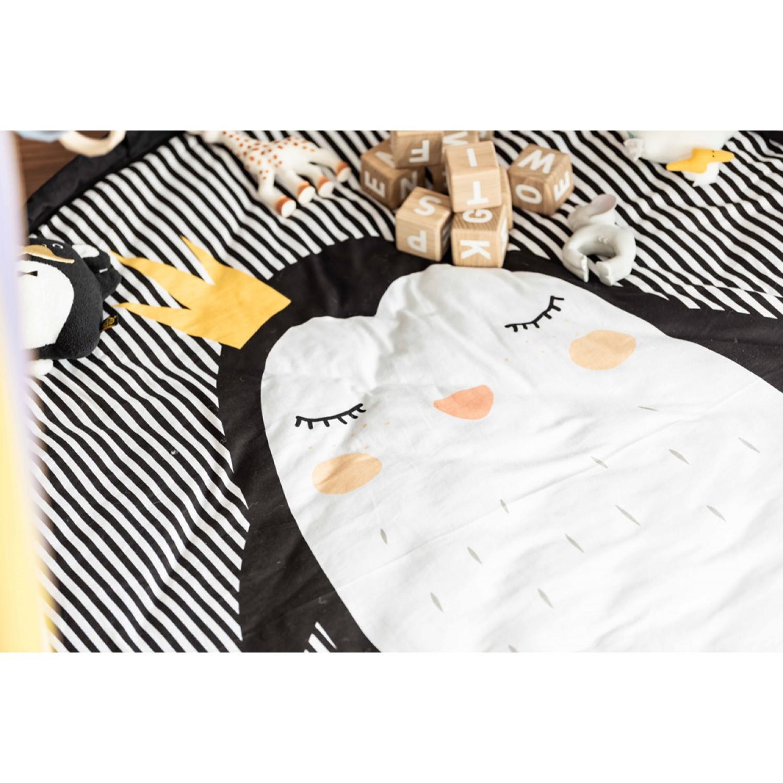 Penguin baby playmat - bag