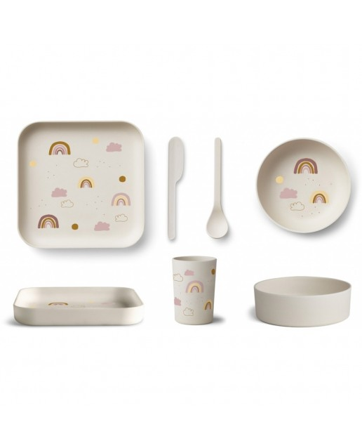 AIKO BAMBOO SET | RAINBOW