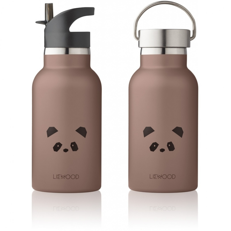 Anker Water Bottle | Panda Dark Rose