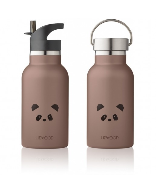 Anker Water Bottle | Panda Dark Rose