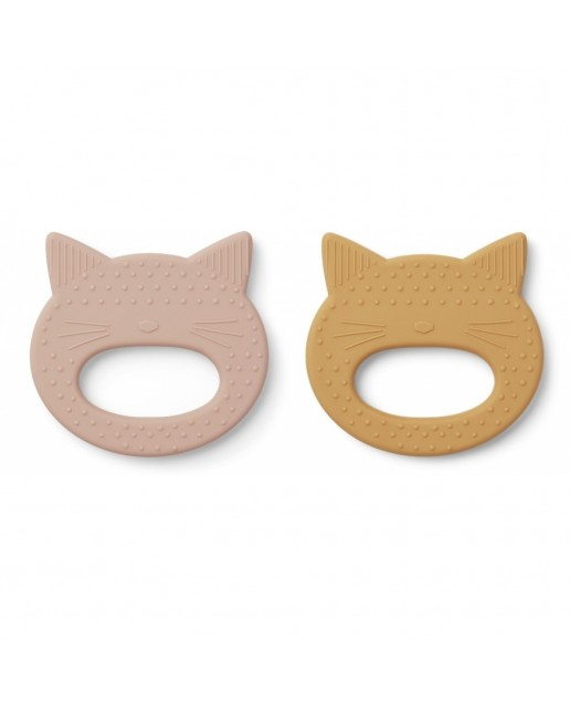 Geo Teelther | Cat Rose/Yellow Mellow | 2 Pack