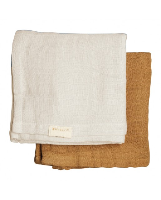 MUSLIN CLOTH - 2 PACK - FAUNE