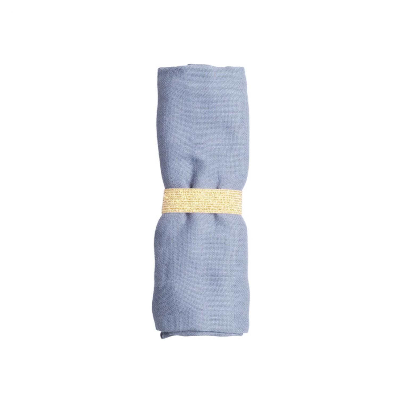 MUSLIN CLOTH MARINA BLUE
