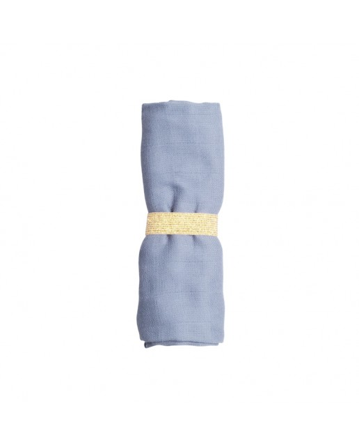 MUSLIN CLOTH MARINA BLUE