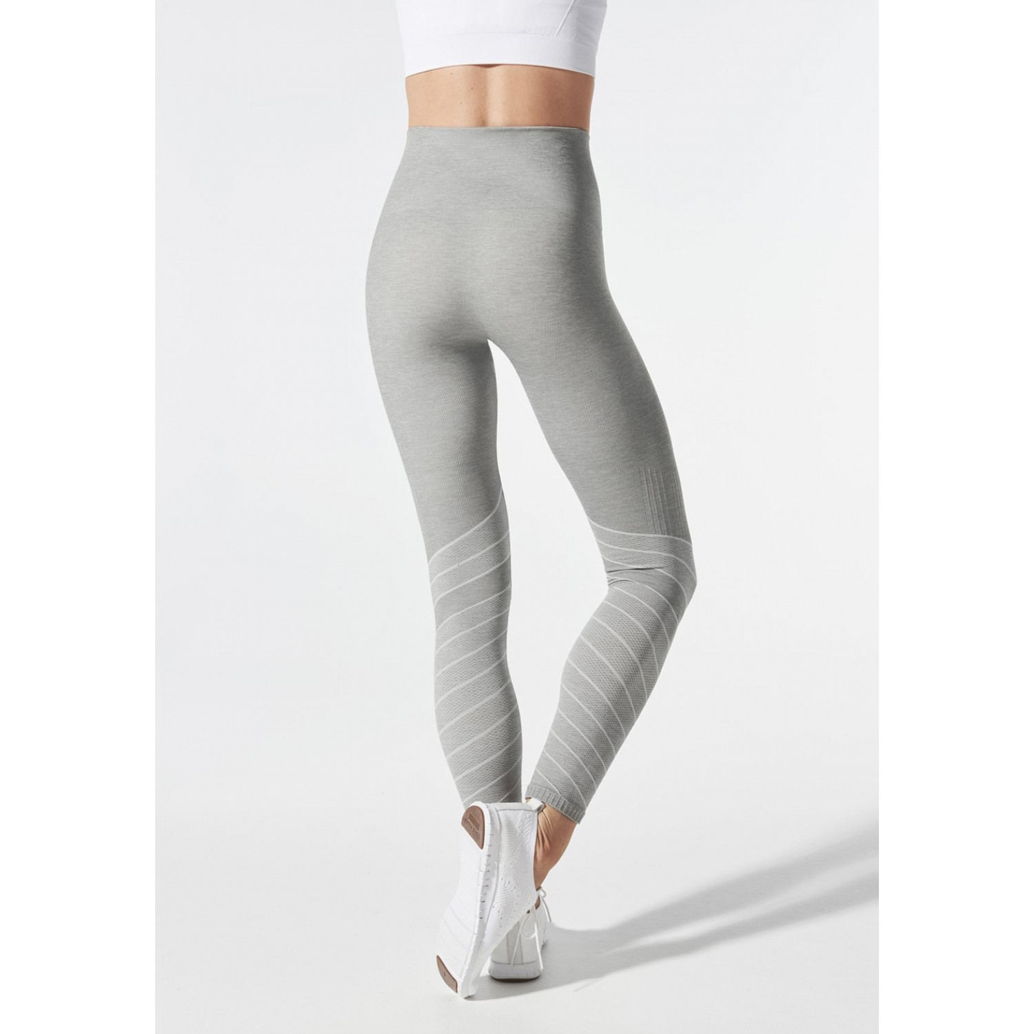 BLANQI SPORTSUPPORT™ HIPSTER CONTOUR LEGGING DOVE GREY
