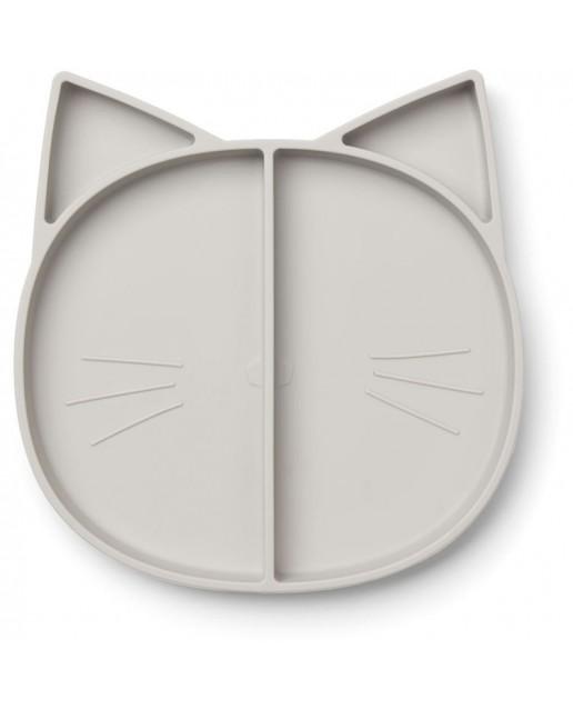 Maddox Multi Plate | Cat Dumbo Grey