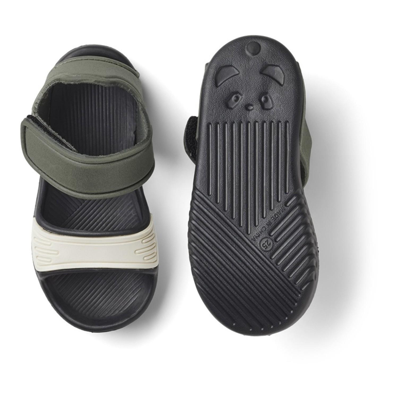 Blumer Sandals | Hunter Black Mix