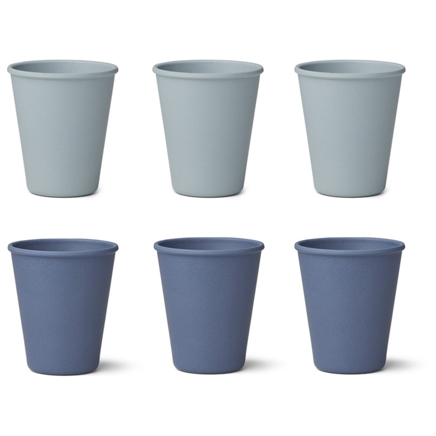 Bamboo Cup Gertud - 6 Pack |Blue MIx